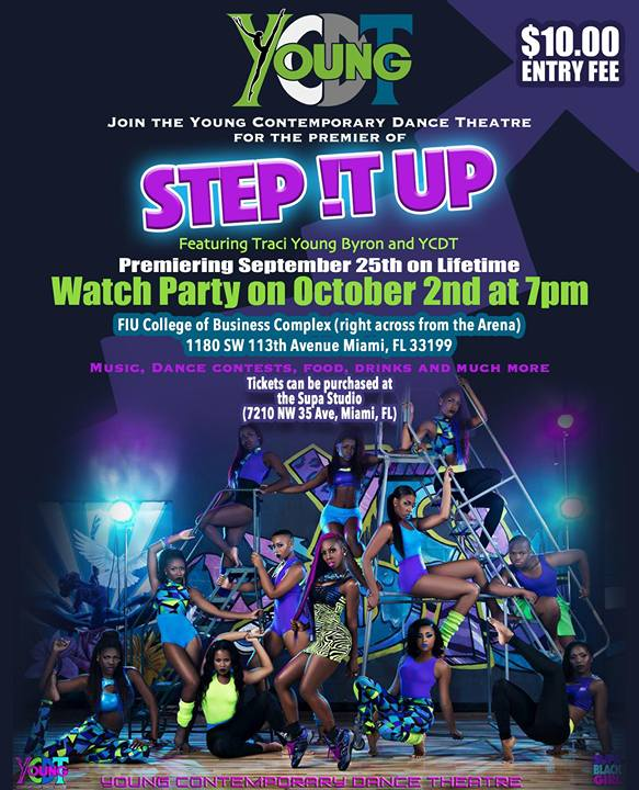 Step It Up Watch Party